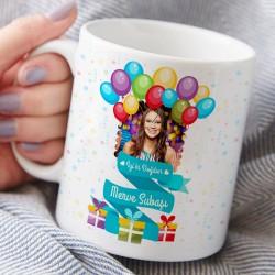 Fotoğraflı Doğum Günü Kupa Bardak - Thumbnail