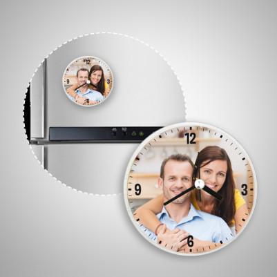 Fotoğraflı Kişiye Özel Buzdolabı Magneti - Thumbnail
