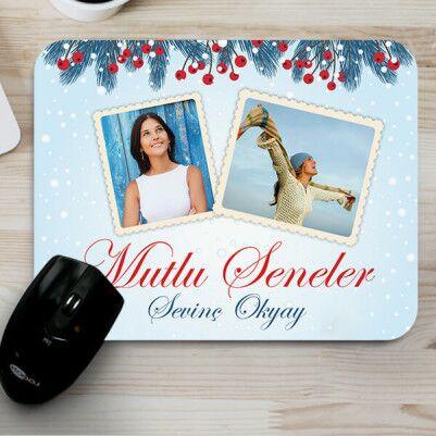 - Fotoğraflı Mutlu Seneler Mouse Pad