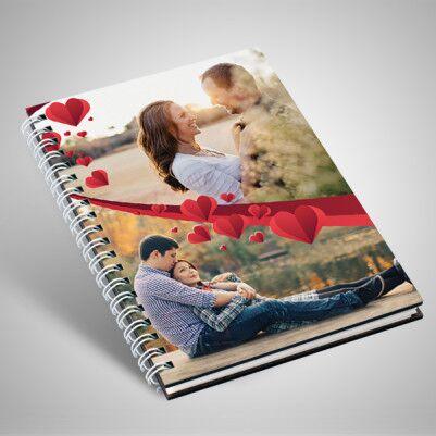 Fotoğraflı Romantik Sevgili Defteri - Thumbnail
