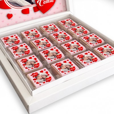 Fotoğraflı Sevgililer Günü Çikolataları - Thumbnail
