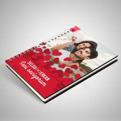 Fotoğraflı Sevgililer Günü Defteri - Thumbnail