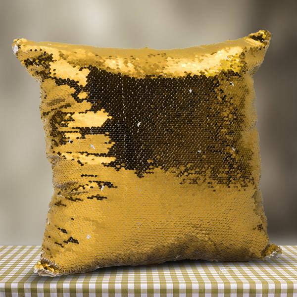 Fotoğraflı Sihirli Yastık Gold