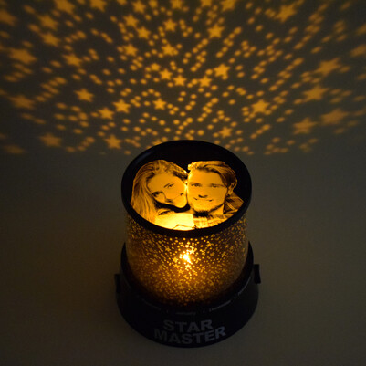 - Fotoğraflı Star Master Gece Lambası