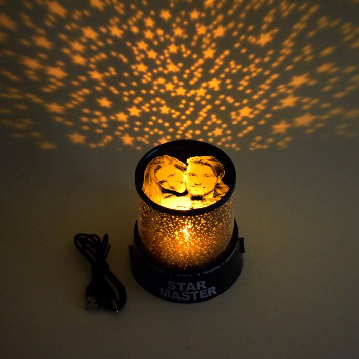 Fotoğraflı Star Master Gece Lambası