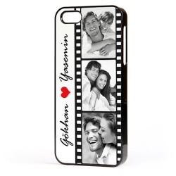 - Fotoğraflı Film Şeridi iPhone Telefon Kapağı
