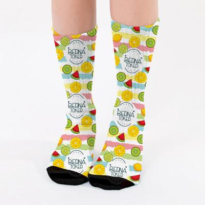 - Fruits Tasarım Kadın Çorabı
