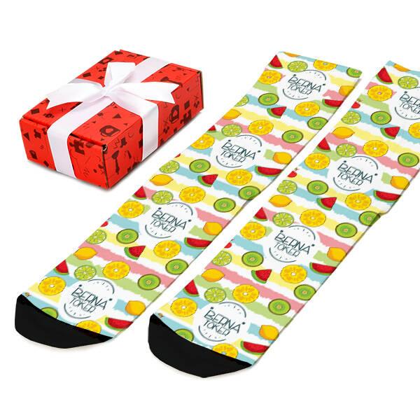 Fruits Tasarım Kadın Çorabı