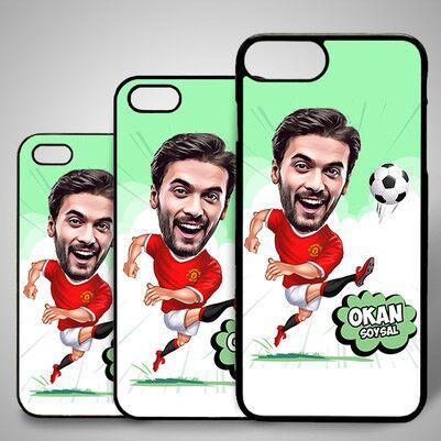 - Futbol Oyuncusu Karikatürlü Iphone Kapak