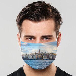 - Galata Kulesi Tasarımlı Maske