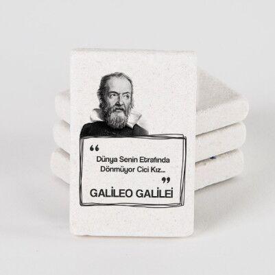 - Galileo Esprili Taş Buzdolabı Magneti