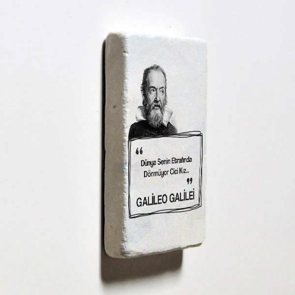 Galileo Esprili Taş Buzdolabı Magneti