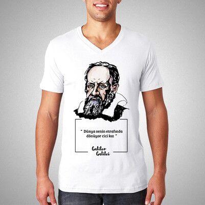 - Galileo Esprili Tişört