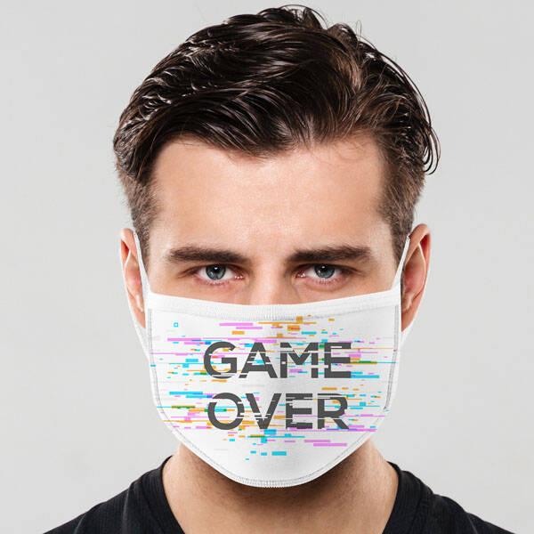 Game Over Tasarım Maske