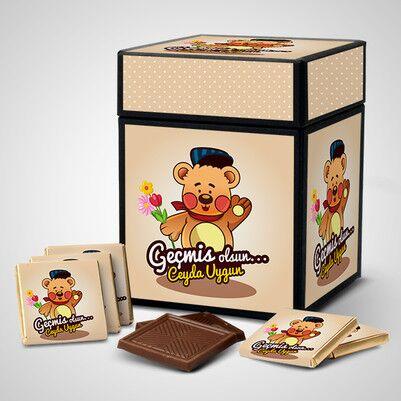 - Geçmiş Olsun Çikolata Kutusu