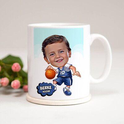 - Geleceğin Basketbolcusu Karikatürlü Kupa