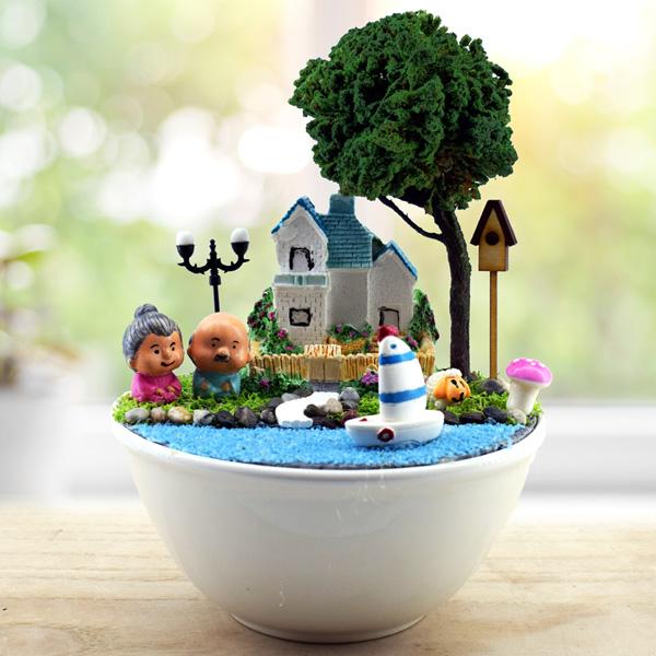 Gelecekteki Halimiz Minyatür Aşk Bahçesi