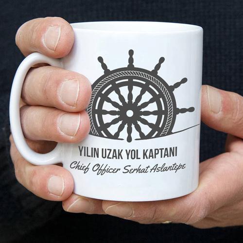 Gemi Kaptanlarına Özel Kahve Kupası