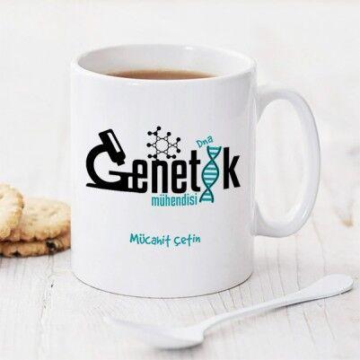 - Genetik Mühendisine Özel Kupa Bardak