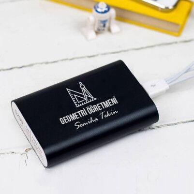 - Geometri Öğretmenine Hediye Powerbank