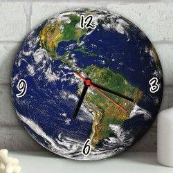 - Gezegenimiz Dünya Duvar Saati