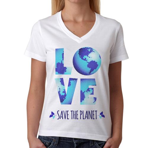 Gezegenimizi Koruyalım Tişörtü