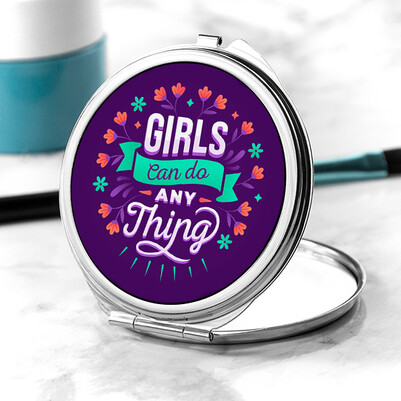 - Girls Can Do Anything Makyaj Aynası