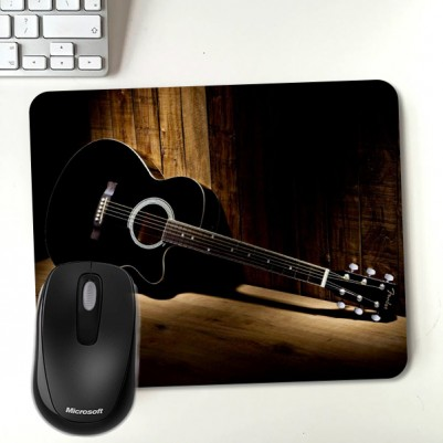 - Gitar Temalı Wallpaper Mousepad