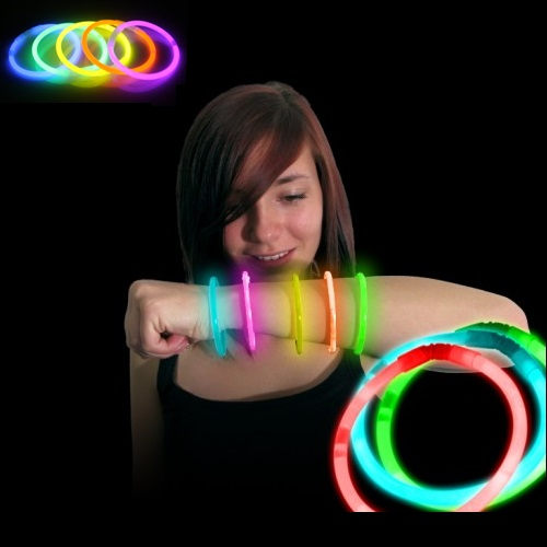 Glow Bangles - Karanlıkta Parlayan Bileklik Seti