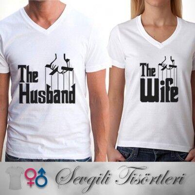 - Godfather Sevgili Tişörtleri