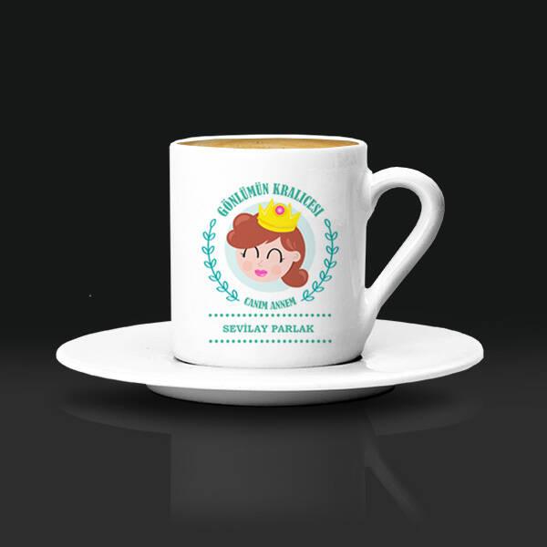 Gönlümün Kraliçesi Annem Kahve Fincanı