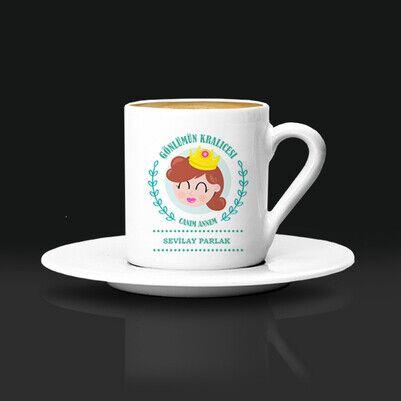 - Gönlümün Kraliçesi Annem Kahve Fincanı