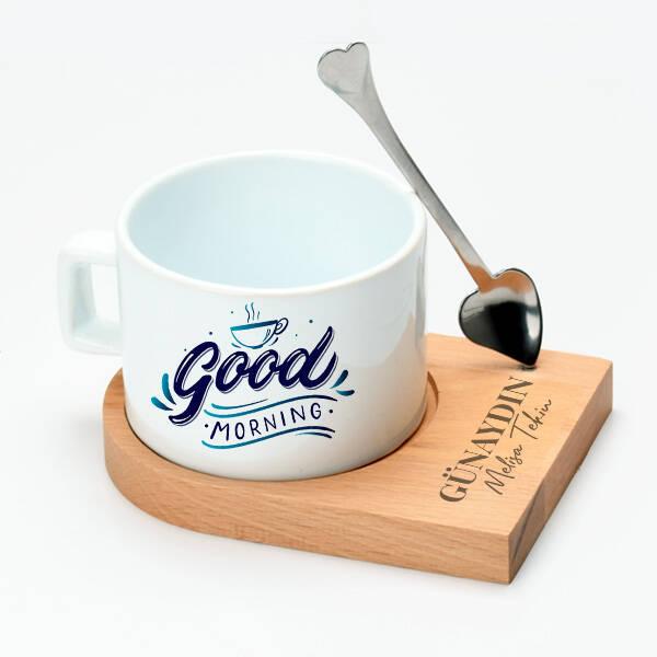 Good Morning Lüks Çay Fincanı