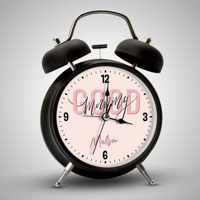- Good Morning Mesajlı Çalar Saat