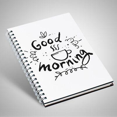 - Good Morning Motto Tasarım Defter