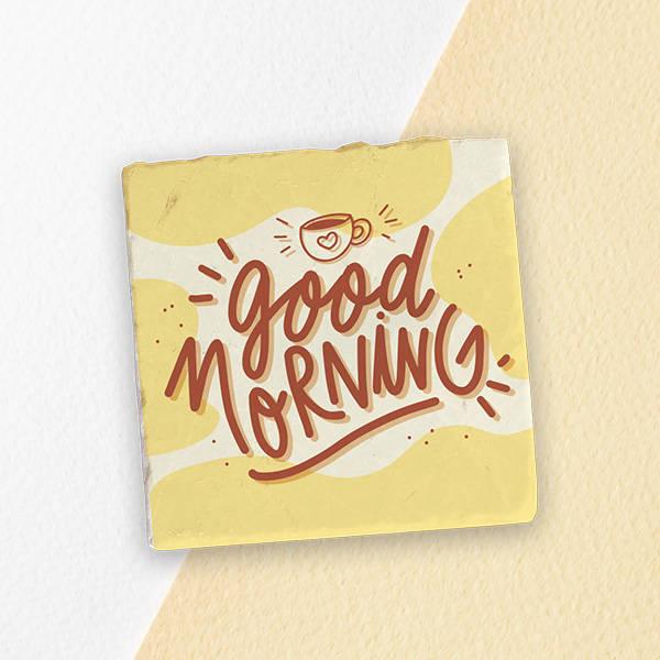 Good Morning Temalı Konsept Hediye Kutusu