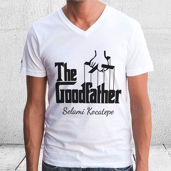 GoodFather - İsme Özel İyi Baba Tişörtü