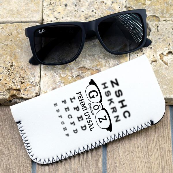 Göz Doktorlarına Özel Gözlük Kılıfı