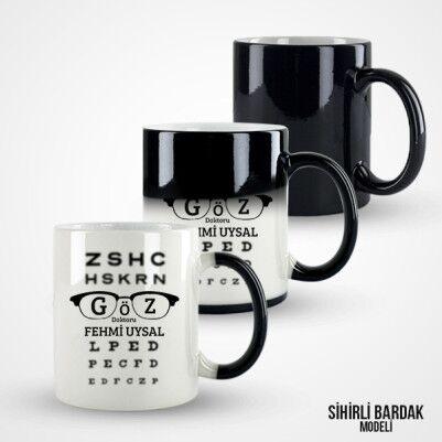 Göz Doktorlarına Özel Kupa Bardak - Thumbnail