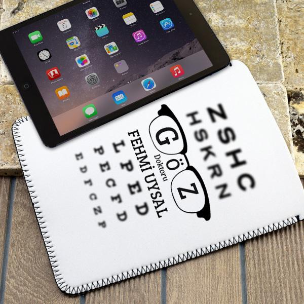 Göz Doktorlarına Özel Tablet Kılıfı