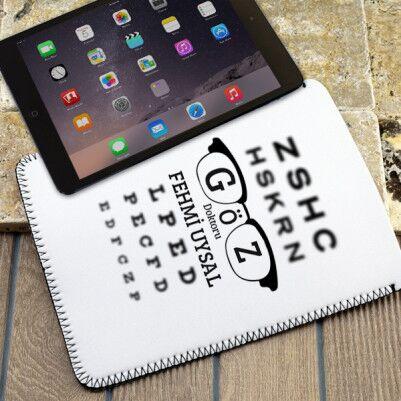 - Göz Doktorlarına Özel Tablet Kılıfı