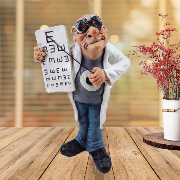 Göz Doktoru Temalı Biblo