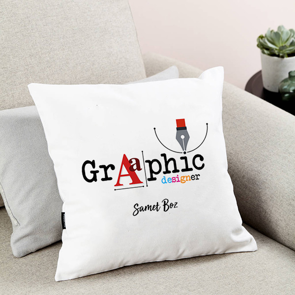Grafik Tasarımcılarına Özel Yastık