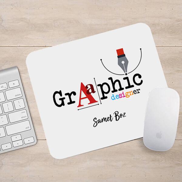 Grafik Tasarımcısına Hediye Mousepad