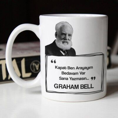 - Graham Bell Esprili Kahve Kupası