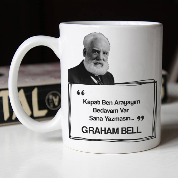 Graham Bell Esprili Kahve Kupası