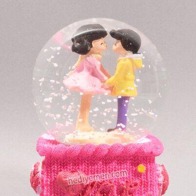 Aşkım Sana Sonsuz Temalı Kar Küresi - K11 - Thumbnail
