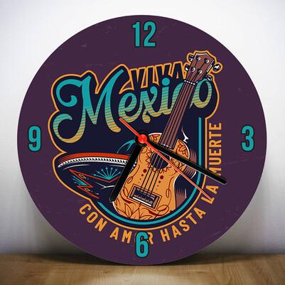 - Guitar Wall Clock - Gitar Duvar Saati