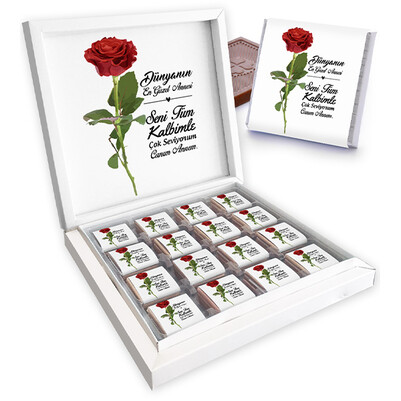 - Güllerin En Güzel Canım Annem Çikolatası