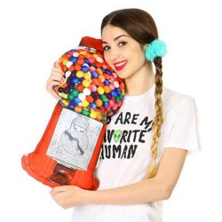 - Gumball Machine Pillow - Şeker Makinesi yastık